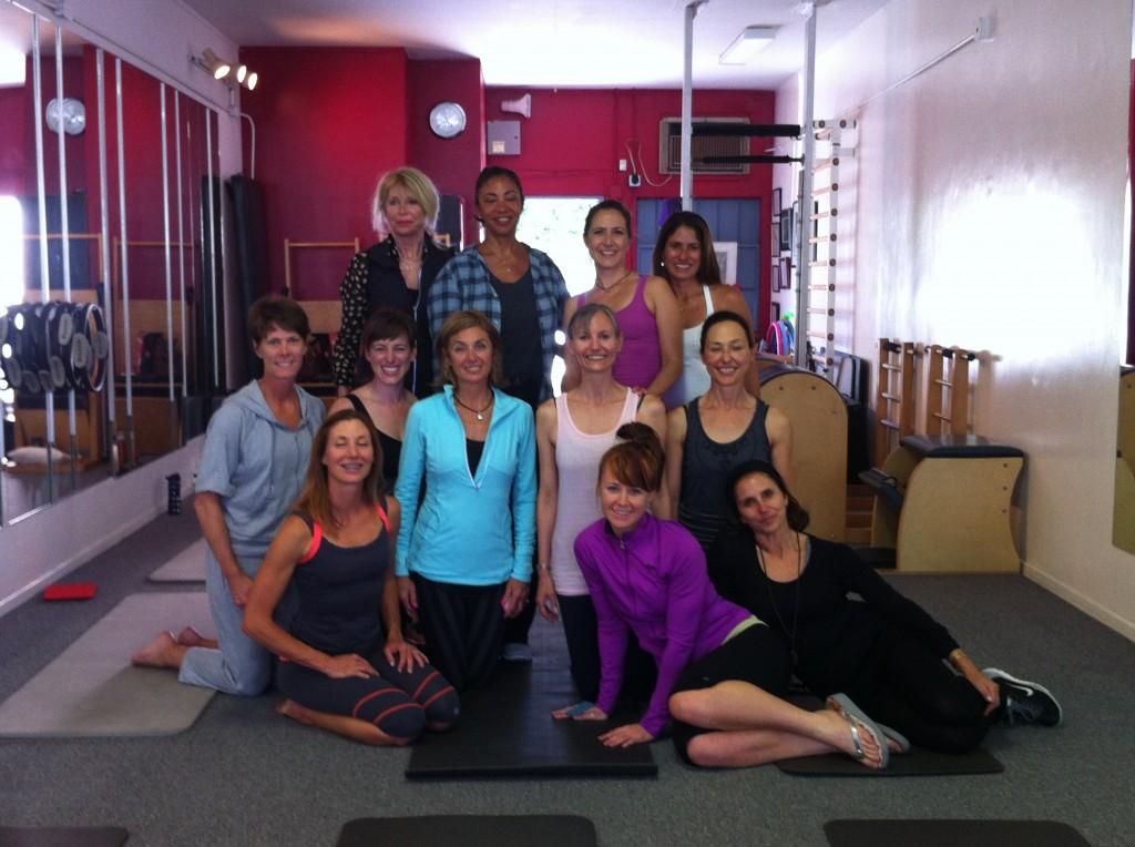 Inside the Pilates Studio: Cynthia Lochard