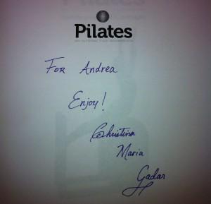 BOOK REVIEW: Pilates An Interactive Workout by Christina Maria Gadar