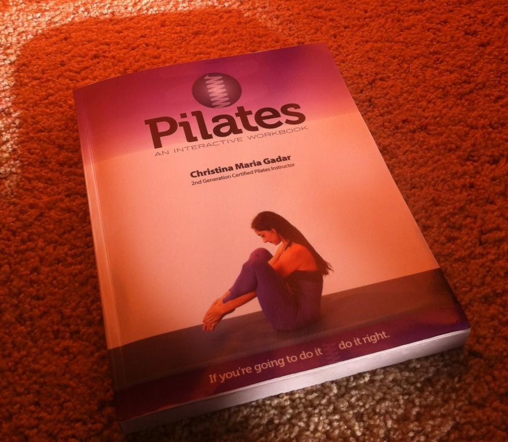 Book Review: Pilates An Interactive Workbook by Christina Maria Gadar