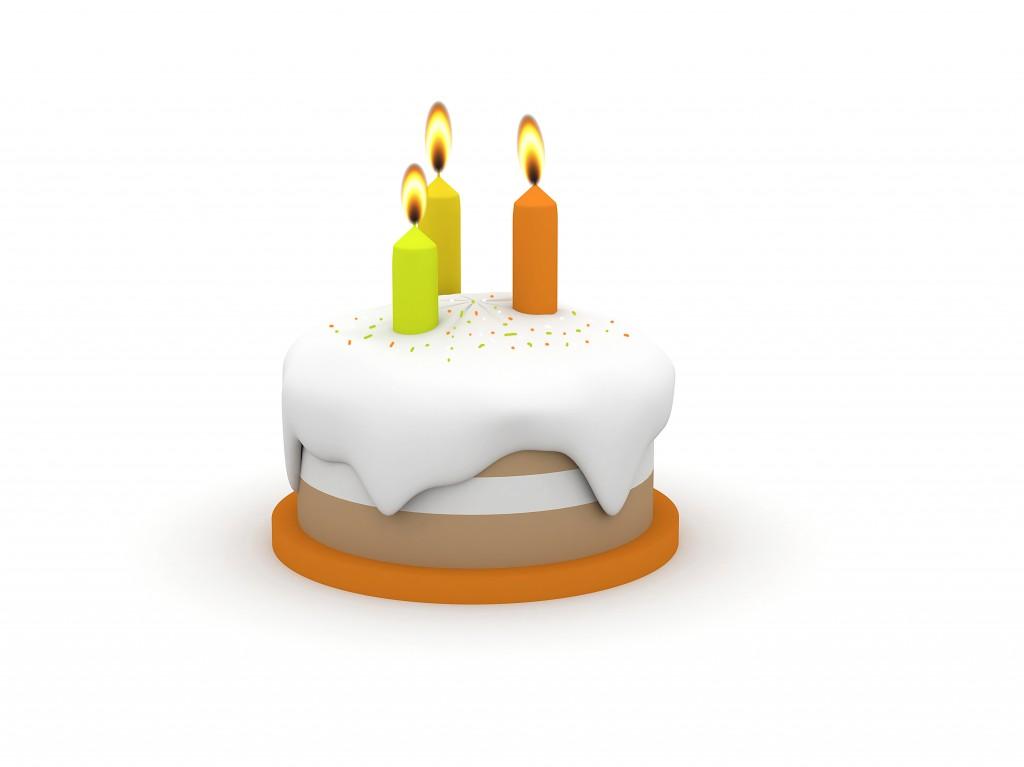 3d Birthday Cake 1013tm Pic