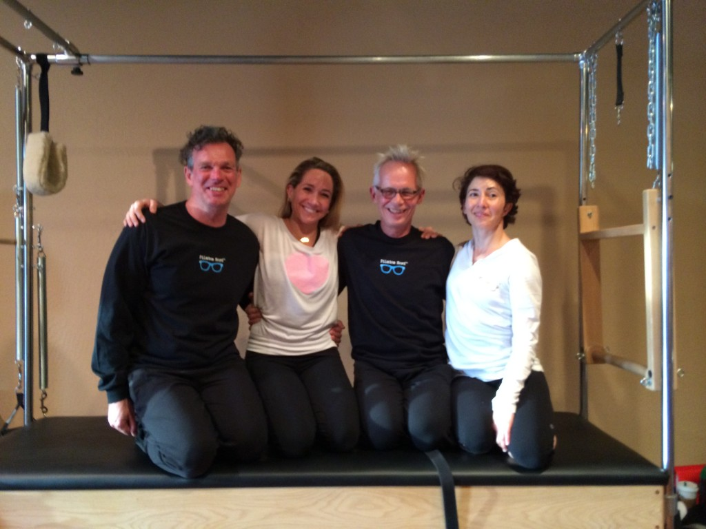 Inside the Pilates Studio: Michael Fritzke and Ton Voogt